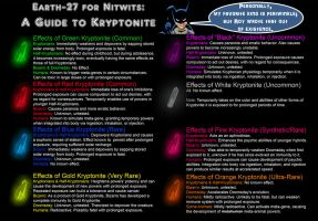 Earth-27 for Nitwits - Kryptonite by Roysovitch