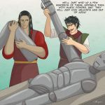 Kurufinwe Feanor  and his Iron Soldiers by Morgaer