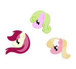 Flower Trio Stickers by Why485