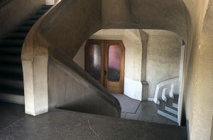 Staircase In Goetheanum by Woscha