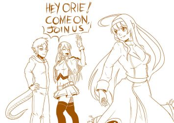 4 OC and Noel ask Orie to join by mattwilson83
