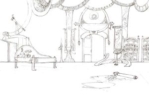 Lullaby Lineworks 1 Luna's Room by Simbaro