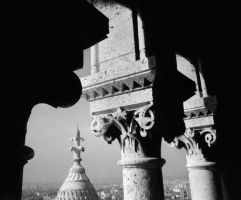 View from Sacre Coeur by salias
