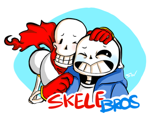Skelebros - Best Brodie Ever by susei1348