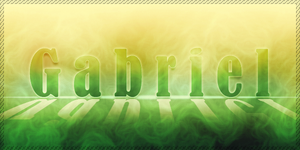 Gabriel Banner by Lateralus138