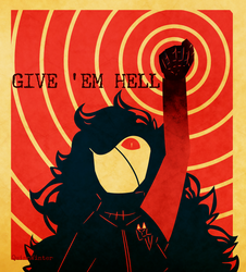 GIVE EM HELL by QuinnWinter