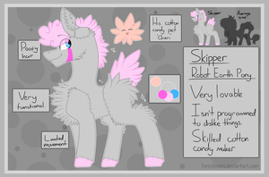 Skipper - Main Robo Pony - Reference Sheet by Forestemni