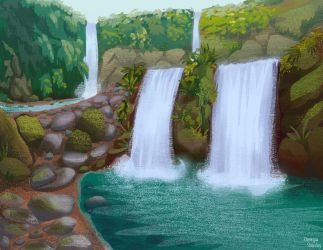 Waterfalls by ggns