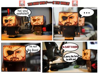 MGSV COMIC-CRAFT-BY RaVe TuBe by ANDREAMARINO93