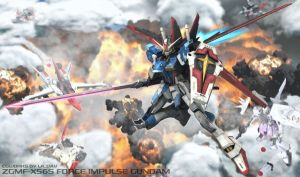ZGMF-X56S FORCE IMPULSE GUNDAM by Ladav01