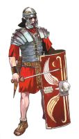 Imperial Roman Legionary by VincentPompetti