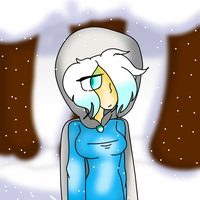 The snow lady. by Bonnieart04