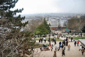 Montmartre by moonhare77