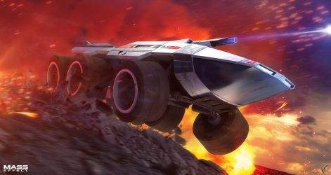 Mass Effect: Don't Flip the Mako! by Chrisofedf