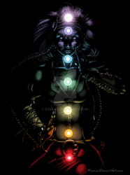 Cleansing your Chakras-Black by Rizerax