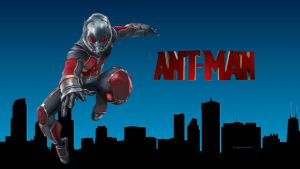 ANT-MAN  City by Curtdawg53