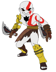 Kratos Chibi (Old) by equilibrik