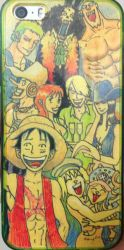 One Piece Art Phone Cover by gravit8