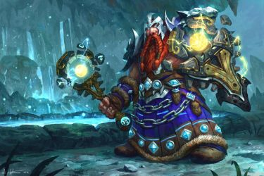 Dwarf Shaman - WoW: Legion by Vablo