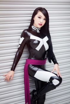 Psylocke - Marvel Comics by Paper-Cube
