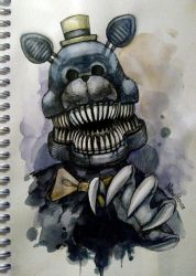 FNaF 4, Nightmare by New-House