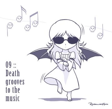 09 :: Death grooves to the music by VoxGraphicaStudio