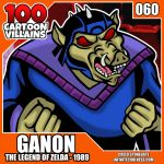100 Cartoon Villains - 060 - Ganon! by CreedStonegate