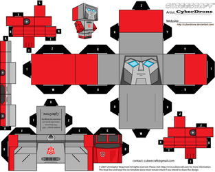 Cubee - Windcharger by CyberDrone