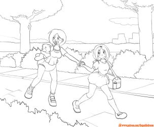 [Color Me] Public walk by The-Padded-Room