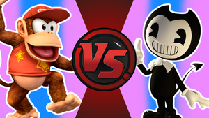 CFC|Diddy Kong vs. Bendy by Vex2001