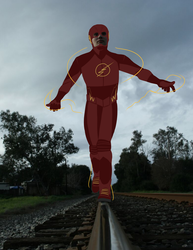 He's Rather FLASH-y by TheBritishGeek