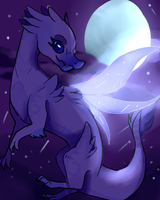 Lavender Mist {COMISSION} by BlueHeartwolf