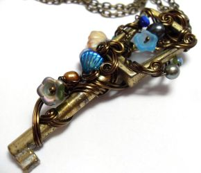 Passage Necklace no. 219 by sojourncuriosities