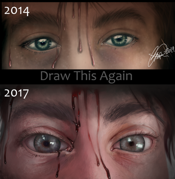 Draw this again 2017 by ImoonArt