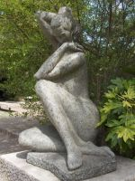 Objects - Goddess Statue by Stock-gallery