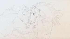 One Breath Pencil rough by Hbruton
