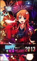 Happy New Year 2013! by cjsn45