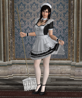 Pose - Kokoro in 'At Your Service' by Lhacrimosa