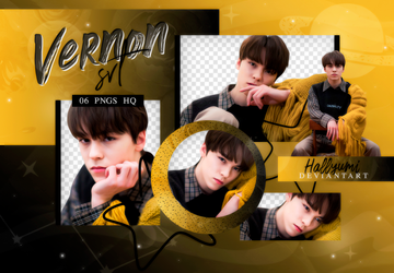 PNG PACK: Vernon #4 'Home' by Hallyumi