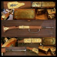 Tesla Rifle Model 1891 by Doctor-Gus