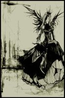.. Exiled Queen of Nothing .. by HeartySpades