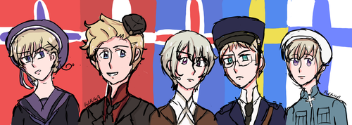 Always by your Side, the Nordic Region 5! by koolkitty9