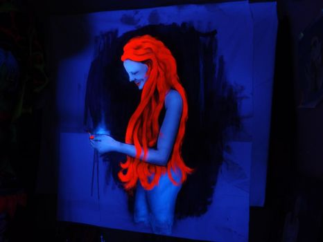 Red haired smile - UV by TomMillyard