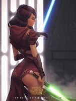 Jedi Knight by Shadzior