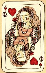 Queen of Hearts by Baleineau