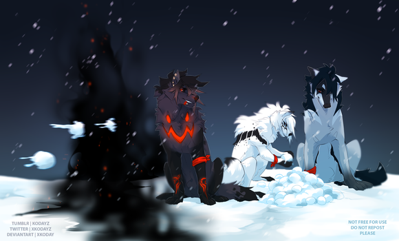 Rohkuh Holiday Event by SirKoday