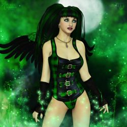 Wickedly Angelic by RavenMoonDesigns