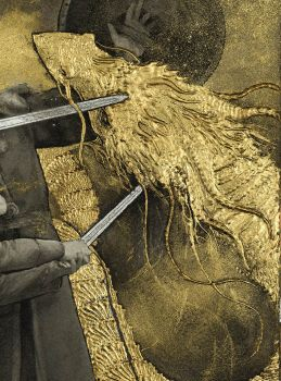 Beowulf - The Fight with the Dragon - detail by Yoann-Lossel