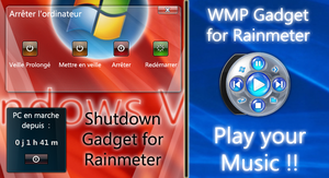 Shutdown and WMP Gadgets by Tone94