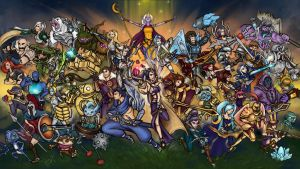 League of Legends: Blood Brothers '14 by khayshee